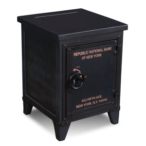Sunset Trading Bank Storage End Table