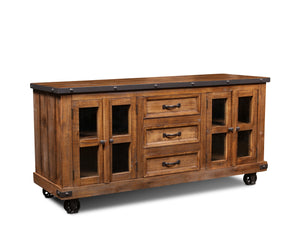 Sunset Trading Rustic City Sideboard