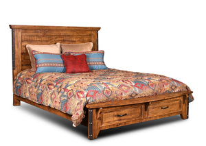 Sunset Trading Rustic City King Bed