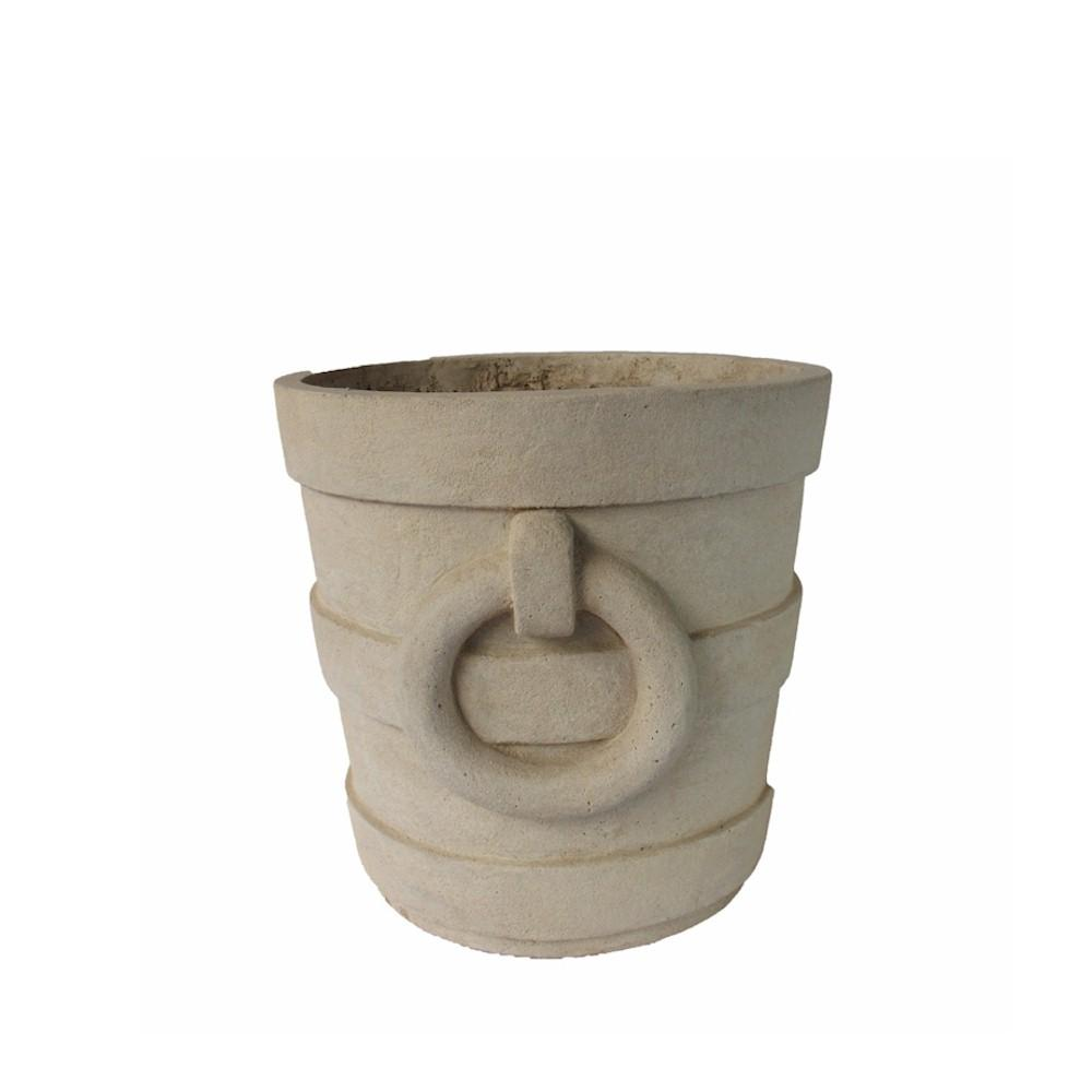 Aztec Round Medium Planter