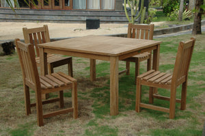 Windsor Classic Side Chair 5-Pieces Dining Table Set