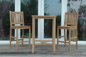 Bahama Avalon 3-Pieces Square Bar Set
