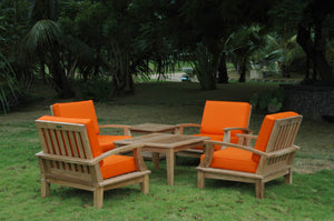 Brianna Bahama 6-Pieces Deep Seating Armchair Set by Anderson Teak - HomeKingz.com - Online furniture shop with the best prices & premium customer support!