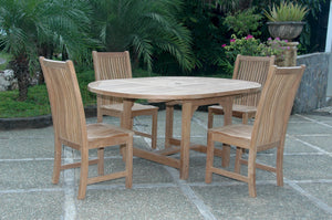 Bahama Chicago 5-Pieces Dining Set