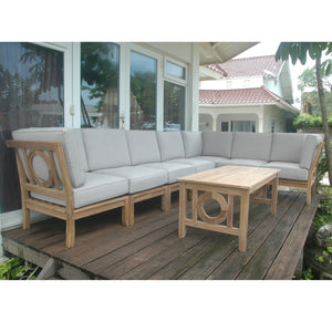 Natsepa 8-Pieces Modular Set by Anderson Teak - HomeKingz.com - Online furniture shop with the best prices & premium customer support!