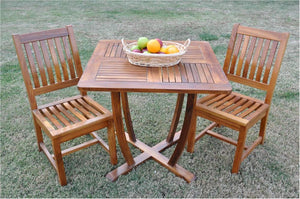 Rialto 3-Pieces Dining Set