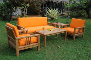 SouthBay Deep Seating 5-Pieces Conversation Set B by Anderson Teak - HomeKingz.com - Online furniture shop with the best prices & premium customer support!