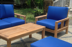 SouthBay Deep Seating 6-Pieces Conversation Set A by Anderson Teak - HomeKingz.com - Online furniture shop with the best prices & premium customer support!