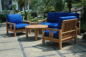 SouthBay Deep Seating 5-Pieces Conversation Set C by Anderson Teak - HomeKingz.com - Online furniture shop with the best prices & premium customer support!