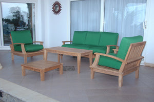 Brianna 5-Pieces Deep Seating Sofa Set by Anderson Teak - HomeKingz.com - Online furniture shop with the best prices & premium customer support!