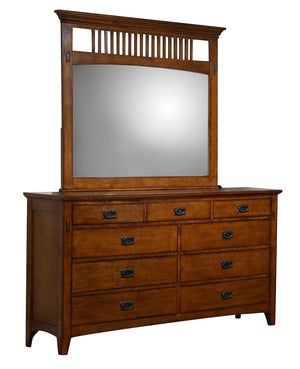 Sunset Trading Tremont Dresser and Mirror Set