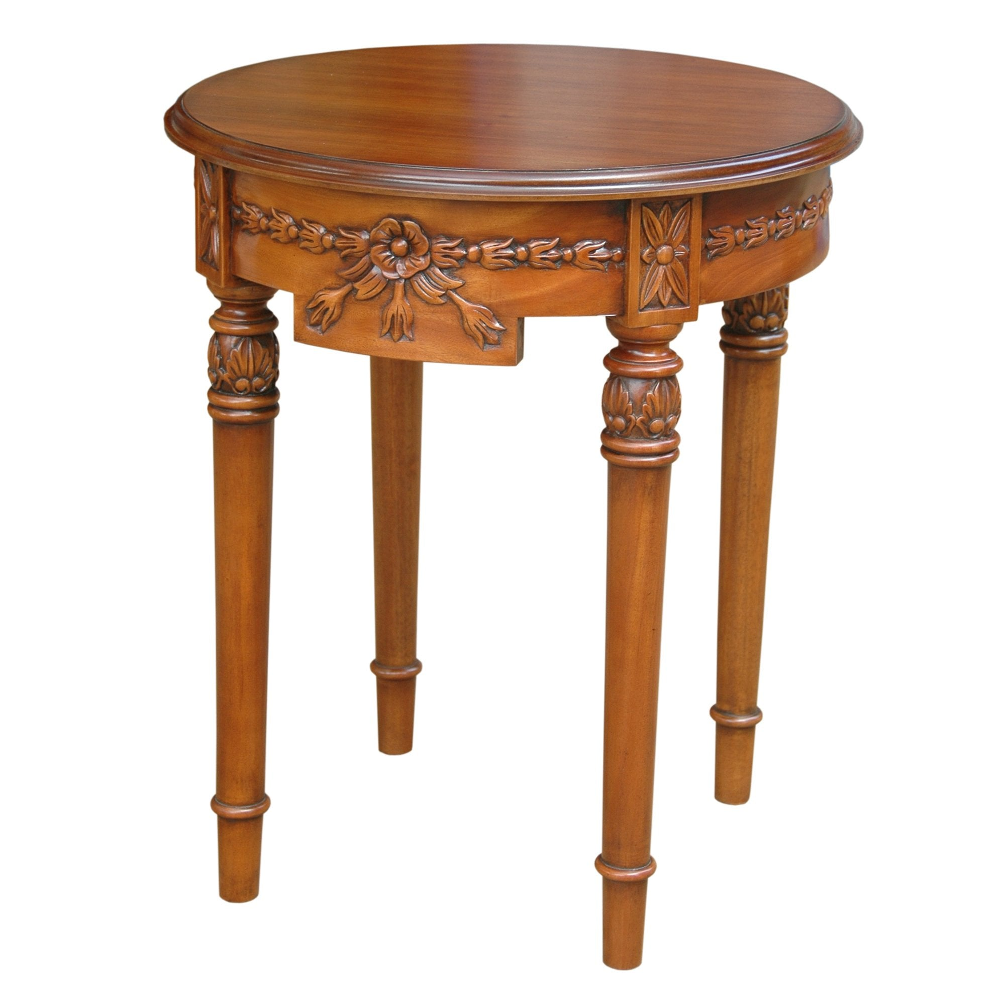 Regency Flower Side Table