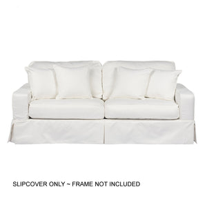 Sunset Trading Americana Slipcover for Box Cushion Track Arm Sofa