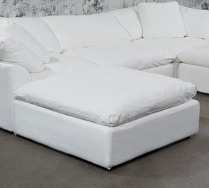 Sunset Trading Cloud Puff Slipcover for Square Modular Ottoman