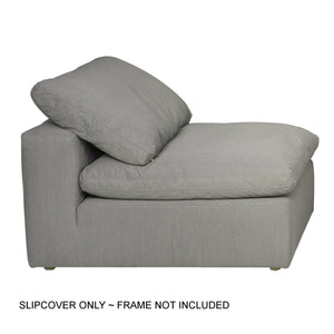 Sunset Trading Cloud Puff Slipcover for Sofa Sectional Modular Chair