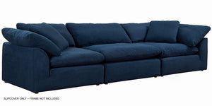 Sunset Trading Cloud Puff Slipcover for 3 Piece Modular Sofa