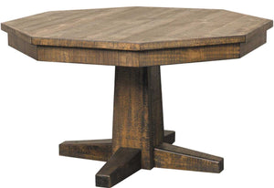 Convertible Poker & Dining Table Tobacco Leaf by Sunny Designs