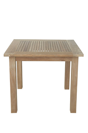 "Bahama 35"" Square Table Small Slats"