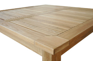 "47"" Windsor Square Small Slat Dining Table"