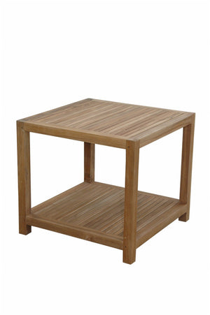 "Glenmore 22"" Side Table w/ 1-Tier"
