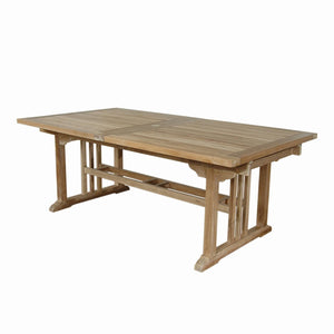 "Sahara 126"" Rectangular Double Ext. Table"