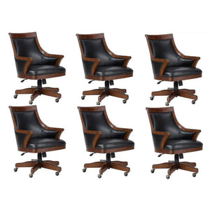 Set of Six (6) or Eight (8) Bonavista Cushioned Chairs by Howard Miller