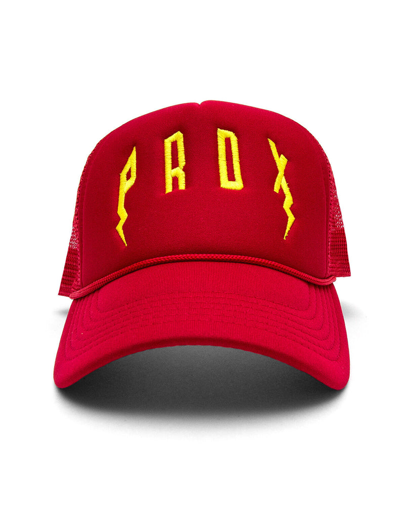 PRDX Trucker Hat (Red/Red/Yellow)