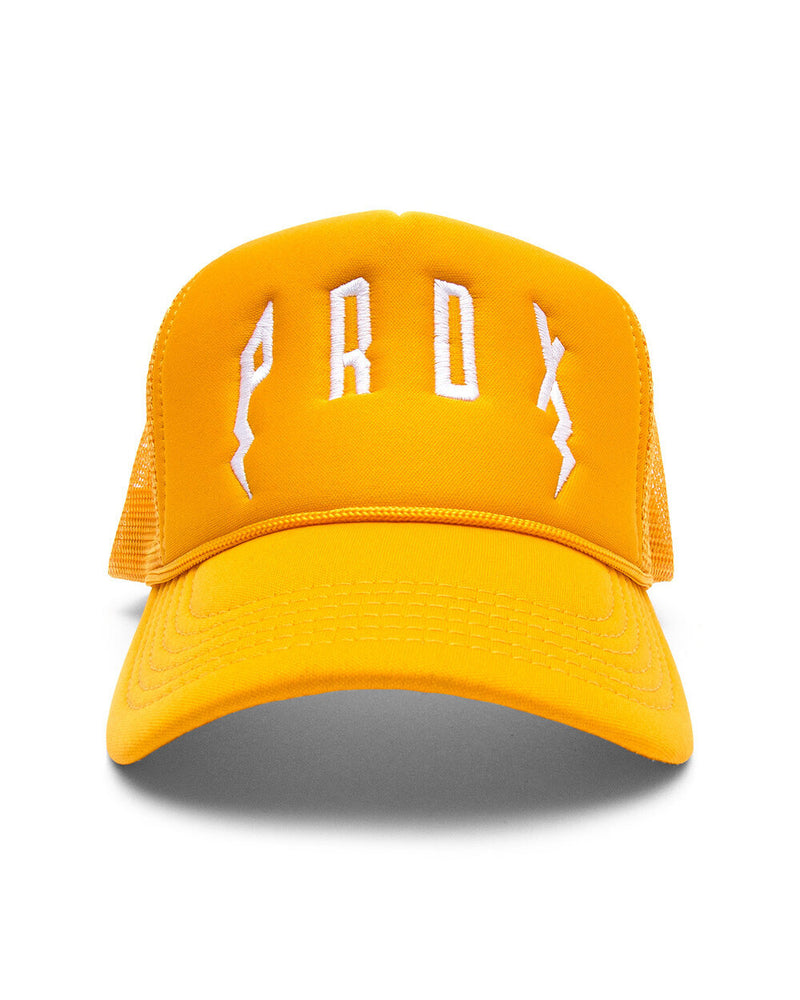PRDX TRUCKER HAT (GOLD/GOLD/WHITE)
