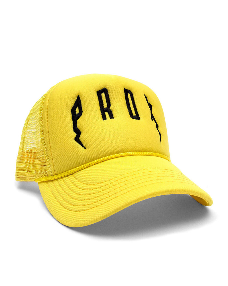 PRDX TRUCKER HAT (YELLOW/YELLOW/BLACK)