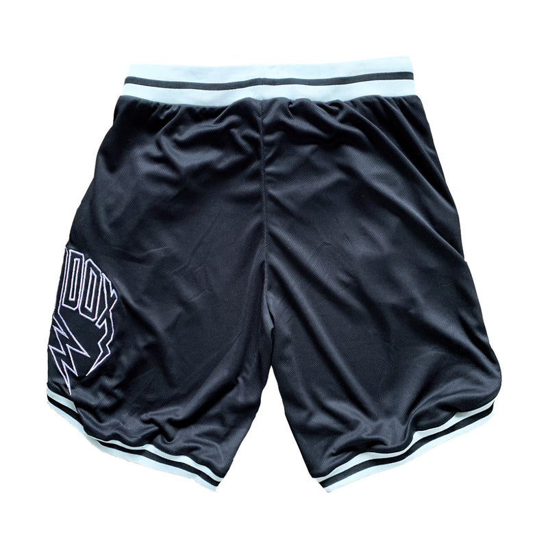 Lightning Arc Logo Varsity Shorts