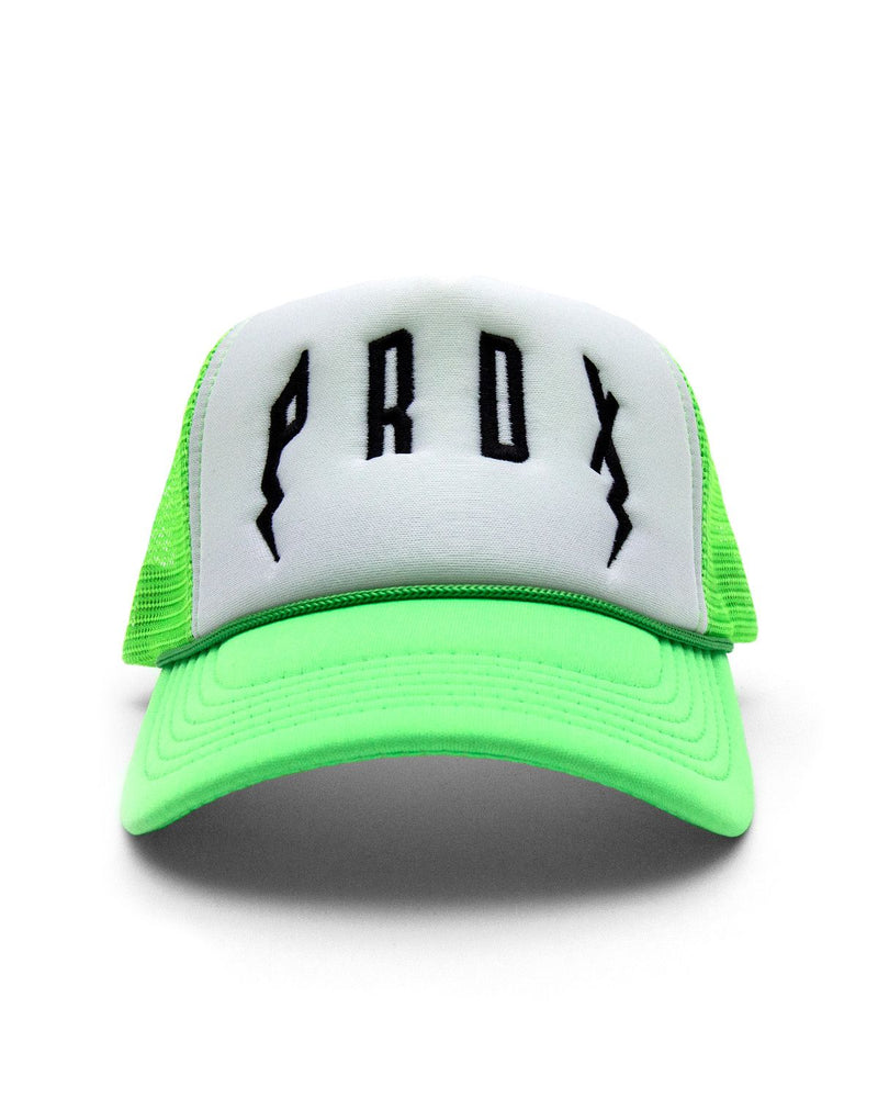 PRDX Trucker Hat (Neon Green/White/Black)