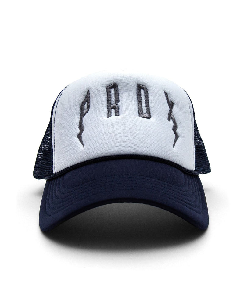 PRDX Trucker Hat (Navy Blue/White/Grey)