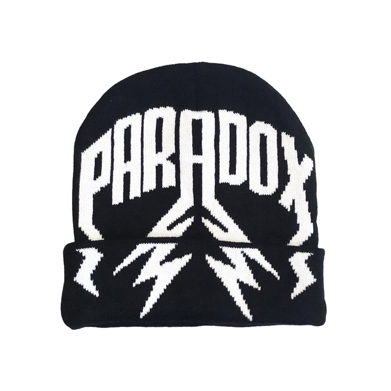 LIGHTNING ARC LOGO - FOLDED BEANIE (BLACK)