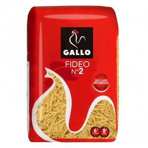 Pasta fideo nº2 Gallo - 500 gr