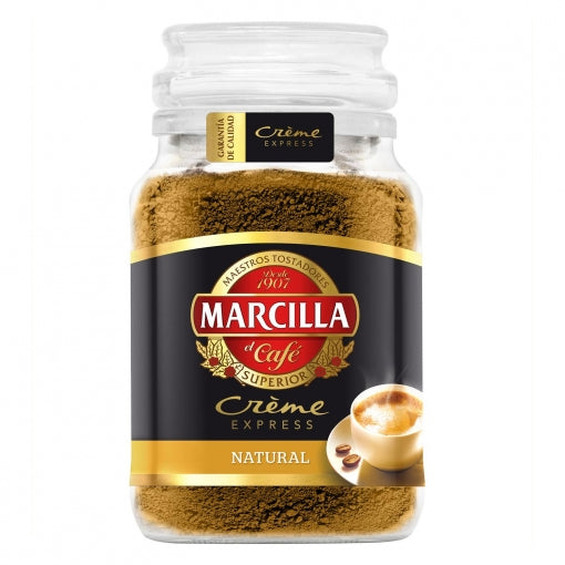 Café soluble natural créme express Marcilla - 200 gr