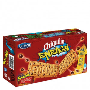 Galletas de cereales y chocolate Chiquilín Energy - 200 gr