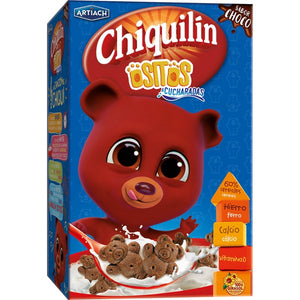 Galletas de cereales con chocolate Ositos Chiquilín - 450 gr