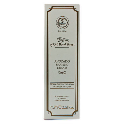 Taylor of Old Bond Street Avocado Shaving Cream Tube