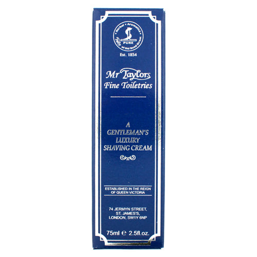 Taylor of Old Bond Street Mr Taylors Shaving Cream Tube