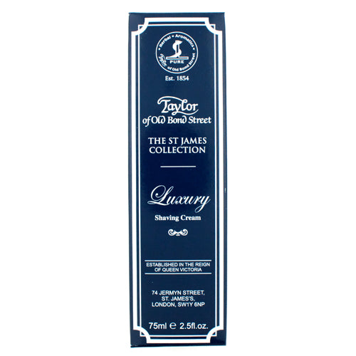 Taylor of Old Bond Street St James Collection Luxury Shaving Cream Tube