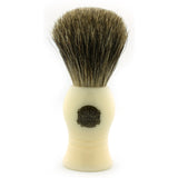 Vulfix 1000A, Pure Badger, Imitation Ivory Handle Shaving Brush