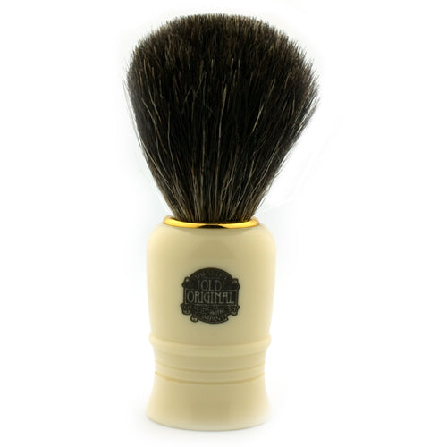 Vulfix 1020, Pure Dark Badger, Imitation Ivory Handle Shaving Brush