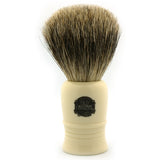 Vulfix 1040, Pure Grey Badger, Imitation Ivory Handle Shaving Brush