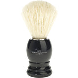 Edwin Jagger Shaving Brush, Pure Bristle, Plastic Handle, Imitation Ebony
