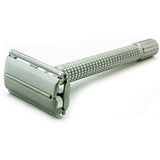 Timor 1328 Matt-Chrome Butterfly Safety Razor 100 mm, with 10 Blades