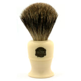 Vulfix 17 Pure Badger, Imitation Ivory Handle Shaving Brush