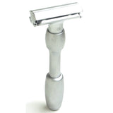 MERKUR Vision 2000 Adjustable Safety Razor, Brushed Chrome