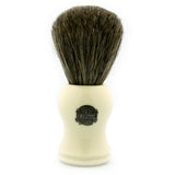 Vulfix 2006I, Pure Dark Badger, Imitation Ivory Handle Shaving Brush