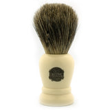 Vulfix 2198, Pure Grey Badger, Imitation Ivory Handle Shaving Brush