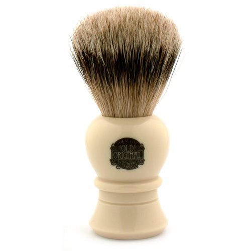 Vulfix 2234 Super Badger, Imitation Ivory Handle Shaving Brush